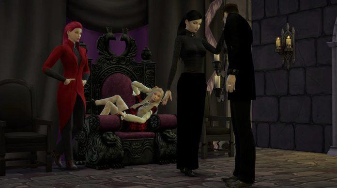 Челлендж «Вампирский шабаш»