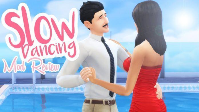 Мод: «Медленный романтический танец» от Sacrificial для Sims 4