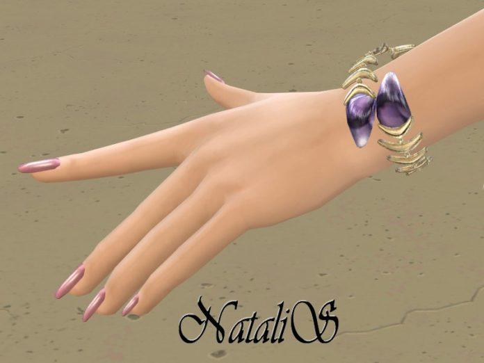 Металлический браслет «Рыбка» от NataliS для Sims 4
