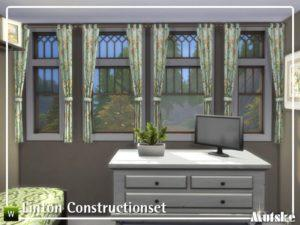 Набор для строительства «Линтон» от mutske для Sims 4