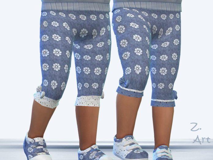 Детские штанишки от Zuckerschnute20 для Sims 4