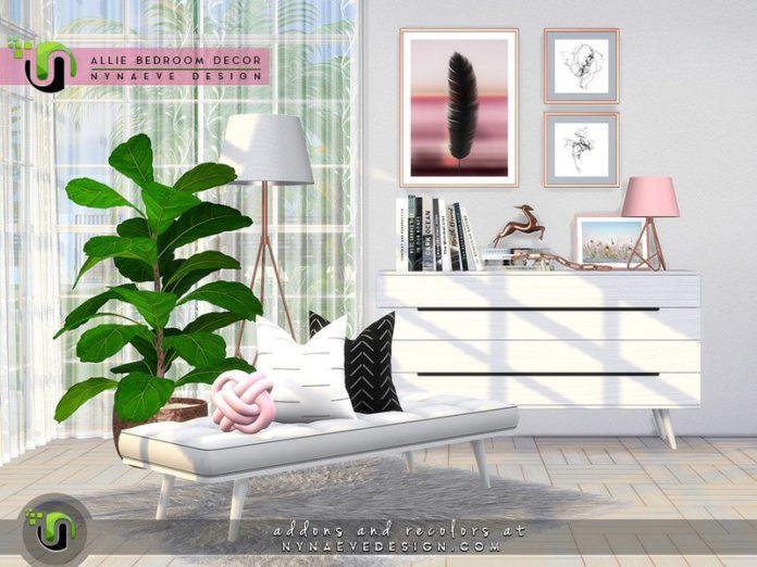 Набор предметов для спальни «Релакс» от NynaeveDesign для Sims 4