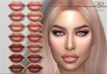 Набор губной помады N106 от FashionRoyaltySims для Sims 4