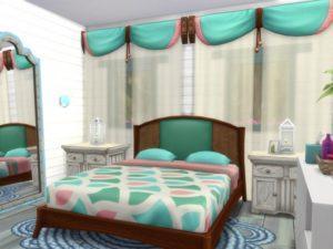 Дом холостяка «Русалочка» от MrsJulie для Sims 4