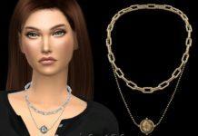 Ожерелье «Компас» от NataliS для Sims 4