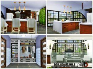 Семейный дом «Куб» от Danuta720 для Sims 4