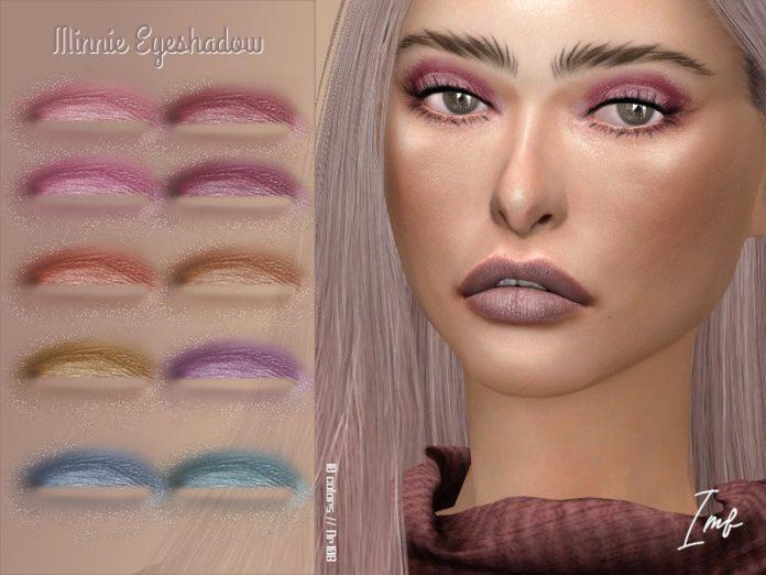 Тени для век «Минни» от IzzieMcFire для Sims 4