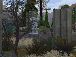 Парк чудес от matomibotaki для Sims 4