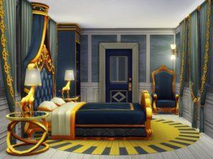 Дом-поезд «Восточный экспресс» от dasie2 для Sims 4