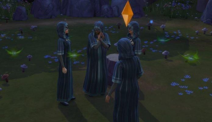 Как вступить в тайное общество Sims 4 В университете
