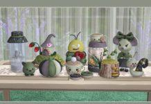 Набор вязаного декора от soloriya для Sims 4