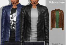 Мужская куртка от belal1997 для Sims 4