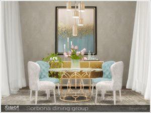 Набор предметов для столовой от Severinka для Sims 4