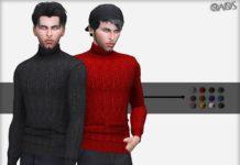 Мужской свитер от OranosTR для Sims 4