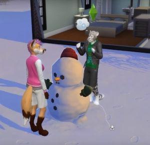 Мод «Раса животных» от Savestate Comic для Sims 4