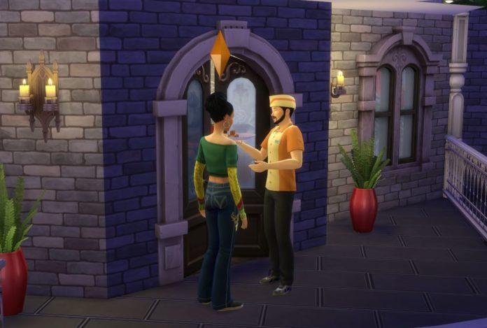 Мод «Доставка еды» от LittleMsSam для Sims 4