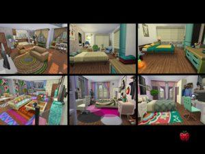 Дом для большой семьи от Melpples для Sims 4
