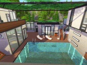 Спа-центр «Цветок» от Ineliz для Sims 4
