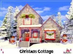 Домик Деда мороза от sharon337 для Sims 4