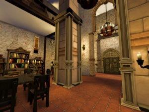 Жилой дом-реплика «Каэр Морхен» от Sarina_Sims для Sims 4