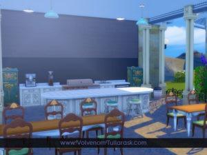 Жилой дом «Палаццо Марино» от Volvenom для Sims 4