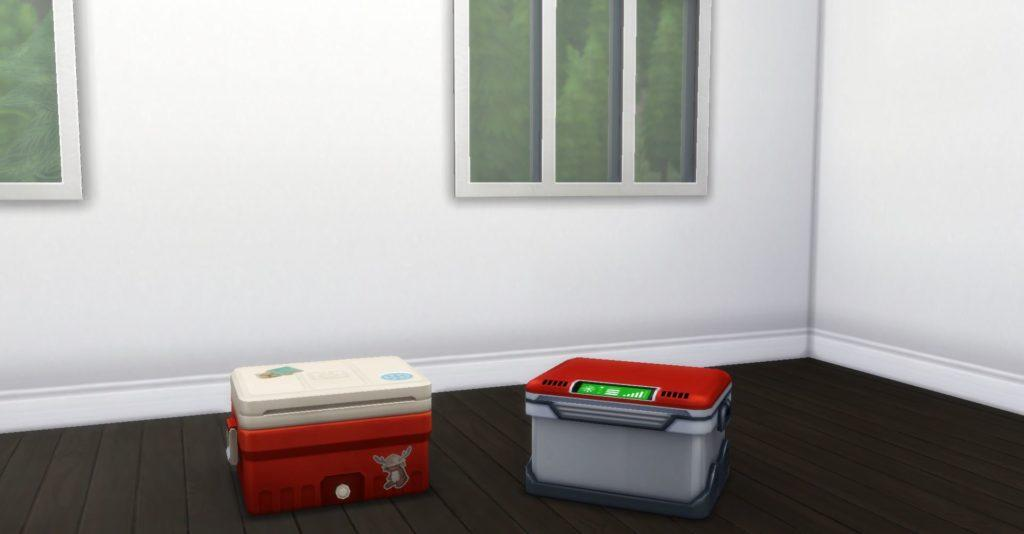 Универсальные предметы для интерьера в крошечных домах Sims 4