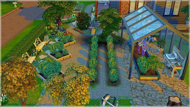 Вдохновение: распрекрасные сады для садоводства Sims 4