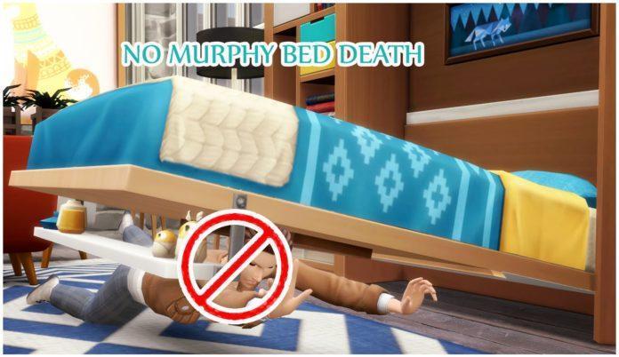 Мод «Безопасная кровать» от icemunmun для Sims 4