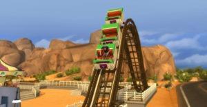 Мод «Американские горки» от necrodog для Sims 4