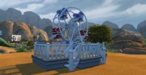 Мод «Колесо обозрения» от necrodog для Sims 4
