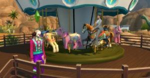 Мод «Карусель» от necrodog для Sims 4