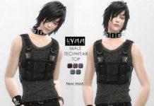 Мужской жилет HYMM от Helsoseira для Sims 4