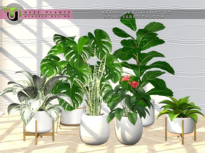 Набор растений от NynaeveDesign для Sims 4