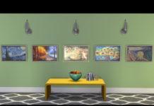 Набор картин от simplicity1343 для Sims 4