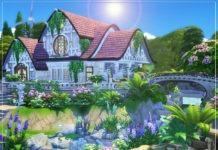 Жилой дом «Персефона» от Xandralynn для Sims 4