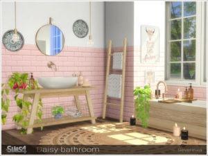 Набор мебели для ванной «Прекрасный день» от Severinka для Sims 4