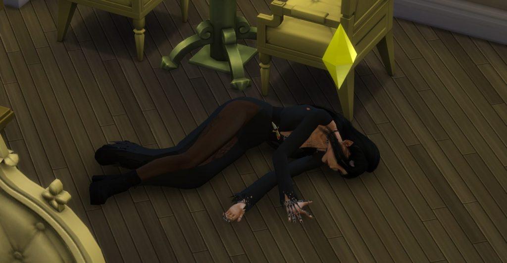 Мод «Смерть перед перерождением» от Zero для Sims 4
