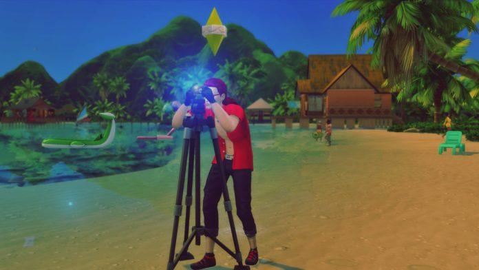 Мод «Известный фотограф» от xbrettface для Sims 4