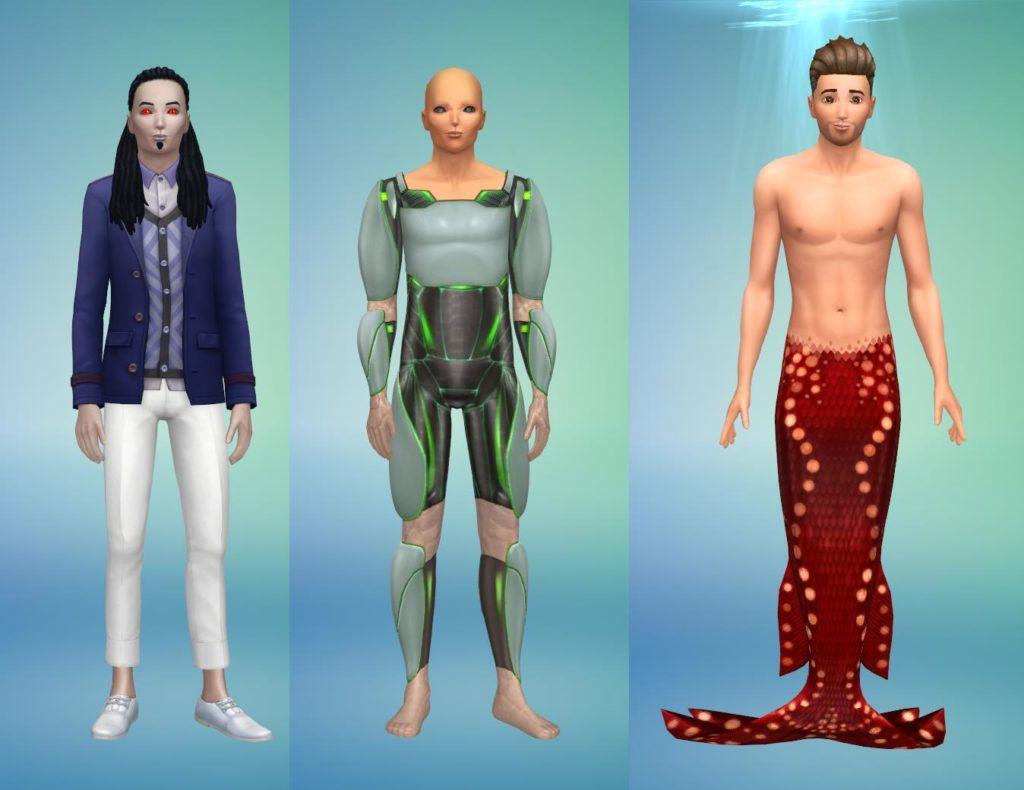 Мод «Спокойствие в CAS» от MizoreYukii для Sims 4