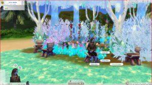 Мод «Полёт на крыльях» от necrodog для Sims 4