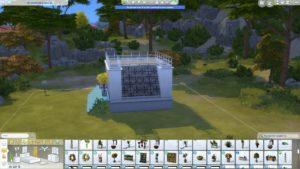 Вдохновение: строительство стеклянного дома Sims 4 Компактная жизнь
