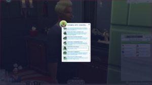 Мод «Больше черт характера» от chingyu1023 для Sims 4