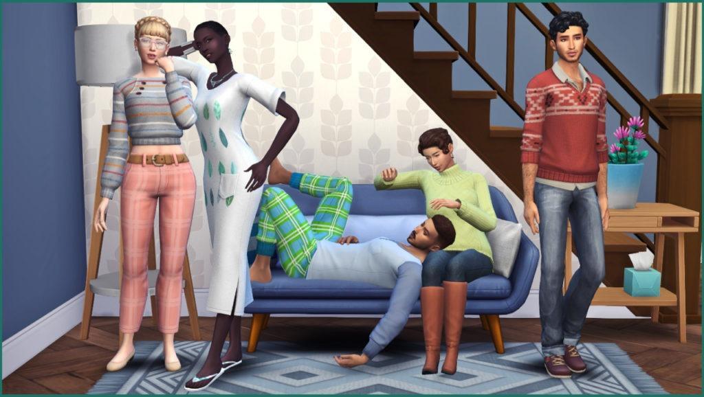 Мод «Плеер поз» от Andrew's Studio для Sims 4