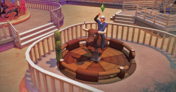 Мод «Бык-родео» от necrodog для Sims 4