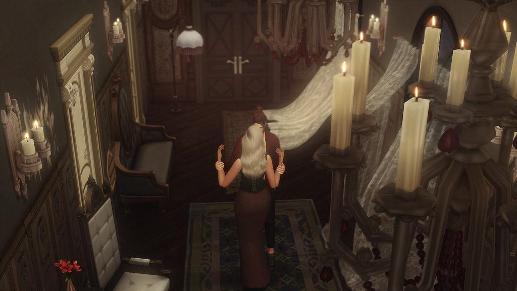 Челлендж «Вампирское трио»