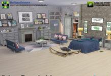Набор мебели Tarva от kardofe для Sims 4