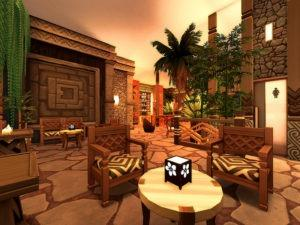 Ночной клуб «Джунгли» от Sarina_Sims для Sims 4