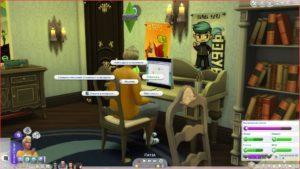Мод «Быстрый чат» от aldavor для Sims 4