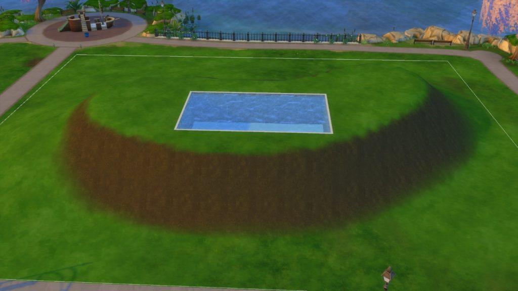 Большое руководство по инструментам ландшафта Sims 4. Часть 3