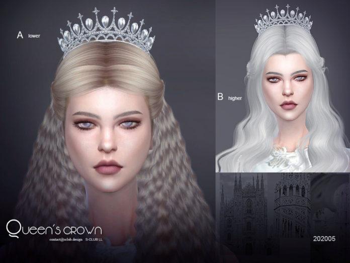 Корона принцессы от S-Club для Sims 4